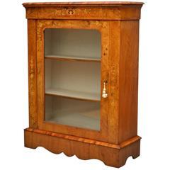 Stunning Victorian Pier Cabinet, Display Cabinet
