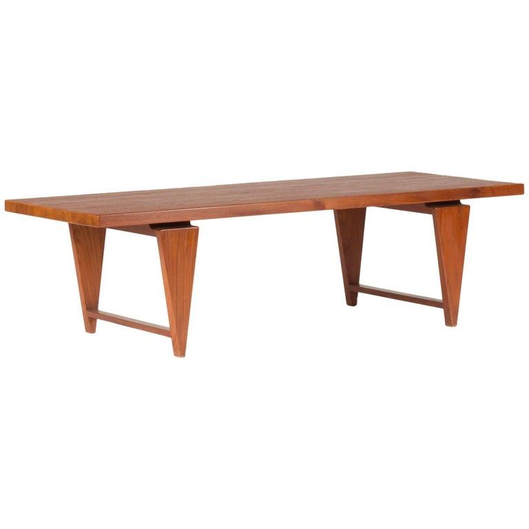 Teak Coffee Table by Illum Wikkelsø For Sale