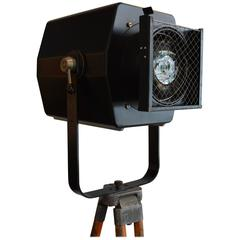 Unique 20th Century Vintage Spotlight or Theater Light