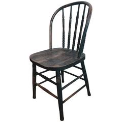 19th Century American Painted Firehouse Chair