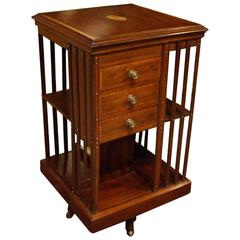 19th Century Special Revolving Bookcase