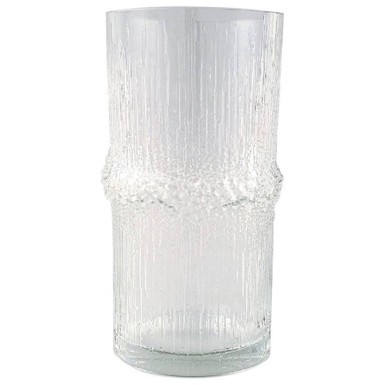 iittala tapio wirkkala glass vase at 1stdibs