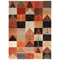 Orley Shabahang Signature Persian Carpet in Handspun Wool and Vegetable Dyes