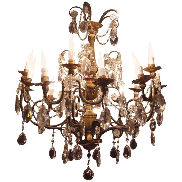 Louis XV Style 15 Lights Chandelier, circa 1880