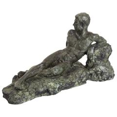 Cedrick Bronze Sculpture