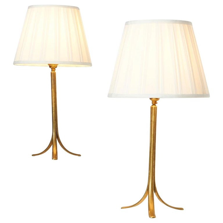 Karl Hagenauer Table Lamps, Vienna, 1930s For Sale