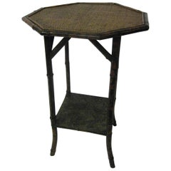 19th century Aesthetic Movement Tiger Bamboo Table