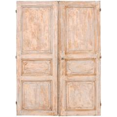 Pair Of 19th Century Wooden Doors At 1stdibs
