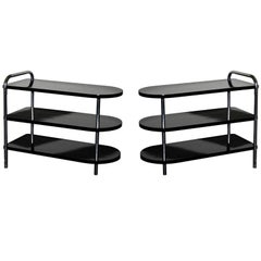 Wolfgang Hoffman Tri Tier Tables