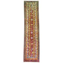 Vintage Turkish Tulu Runner