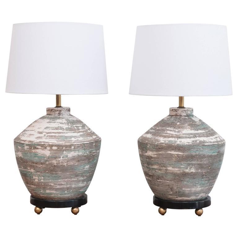 1950s Ceramic Lamps 1