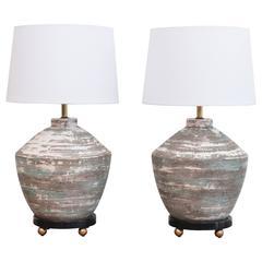 1950s Ceramic Lamps