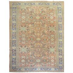 Oversize Antique Persian Mahal Rug