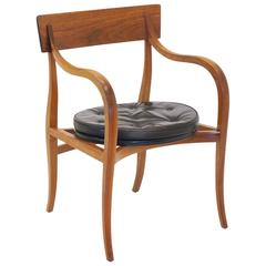 Completely Original Alexandria Chair Designed by Edward Wormley for Dunbar