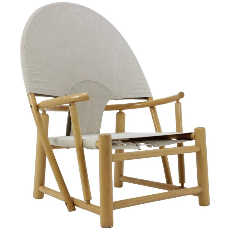 """Piero Palange and Werther Toffoloni Lounge """"Hoop"""" Chair G23 for Germa"""