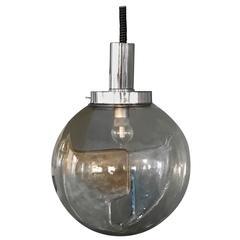 Large Pendant Light by Toni Zuccheri for Venini, circa 1960 in Murano Glass