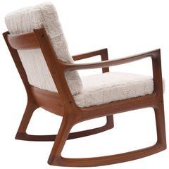 Danish Modern Ole Wanscher Rocking Chair