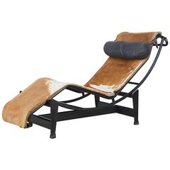 Le Corbusier, Pierre Jeanneret & Charlotte Perriand LC4 Pony Skin No.7275