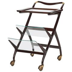 Italian Ico Parisi Bar Cart 50s