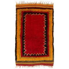 Unique Midcentury Tulu Rug