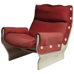 """Canada"" Lounge Chair by Osvaldo Borsani for Tecno"