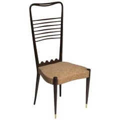 Hi-Back Chair Attributed to Guglielmo Ulrich
