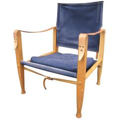 Kaare Klint Safari Chair by Rud .Rassmussen