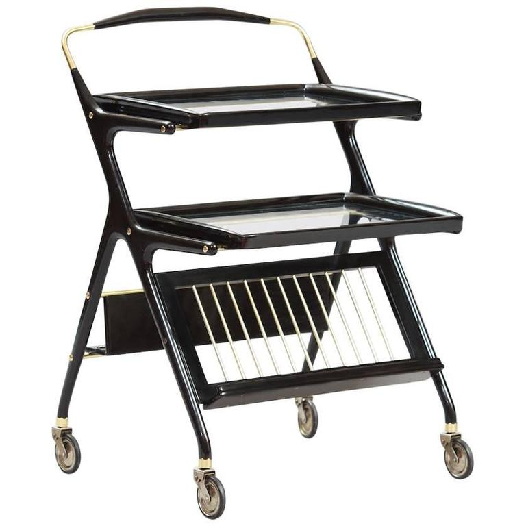 Cesare Lacca Bar or Serving Cart