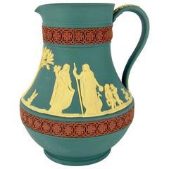 Wedgwood Limited Edition Tricolor Etruscan Jasper Ware Jug