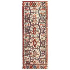Tribal Antique Turkish Kilim