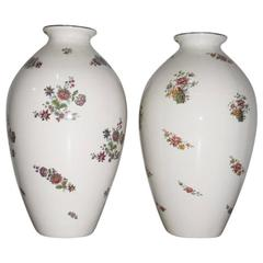 Great Pair of Vases Lavenia 1940 Series Monza, Guido Andloviz,