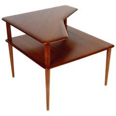 Peter Hvidt Corner Table in Teak