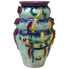 Vase Wiener Werkstätte Austria Vienna Ceramics V. Wieselthier Expressionism 1928