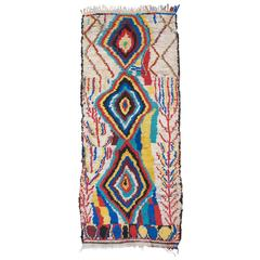 Striking Azilal Berber Moroccan Rug