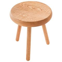 Dibbet Stool in Oak