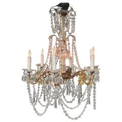 19th Century Country French Chandelier