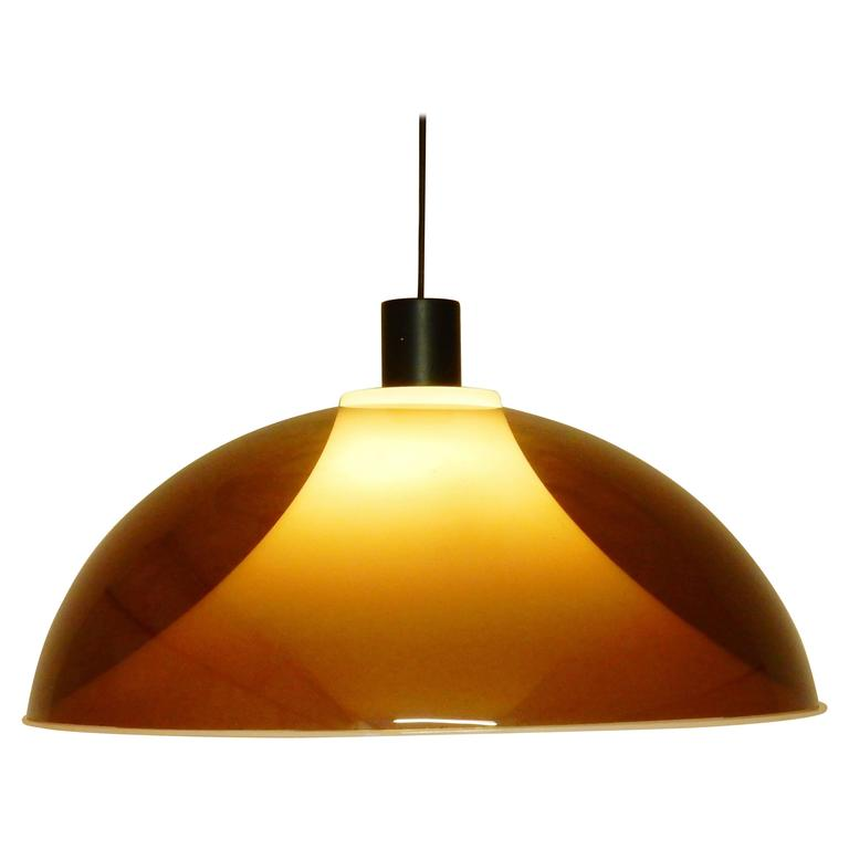 1960s Pendant Light, Attributed to Gino Sarfatti for Arteluce, Italy 1