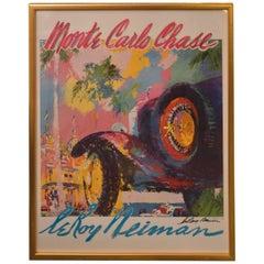 Leroy Neiman Monte Carlo Chase