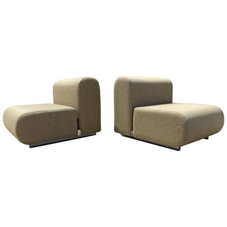Kazuhide Takahama Lounge Chairs for Knoll, 1970s