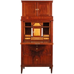 19th Century German Biedermeier Style Secretary