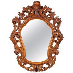 20th Century Italy Rococo Style Mirror