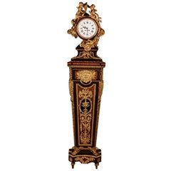 19th Century Napoleon III Pendulum Clock Regulateur De Parquet