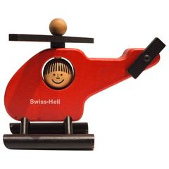 Vintage Swiss Toy Helicopter by Naef