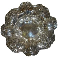 Mid-20th Century Francis I Repoussé Sterling Silver Bowl