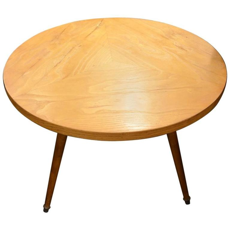 Beautiful Wood Coffee Table Italy Circa 1960 For Sale At
