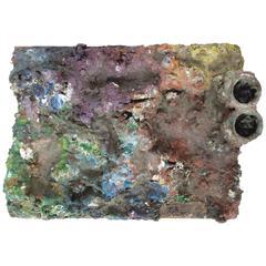 Vintage Artist's Paint Palette