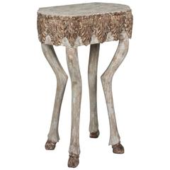 Animal Form Wood Occasional Table, American, 1980s