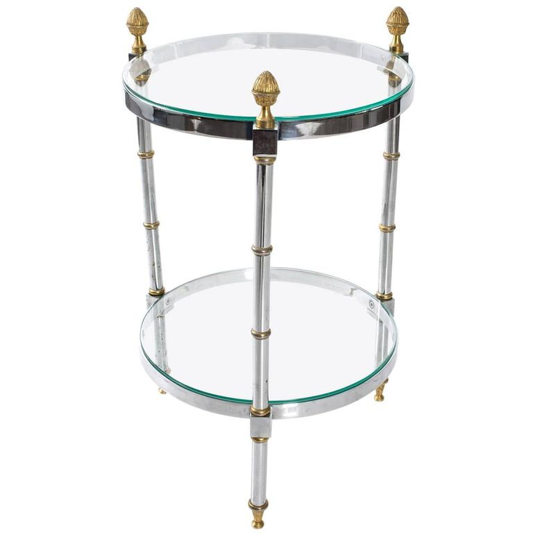 Tiered Cocktail Table For Sale