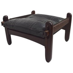 Brazilian Stool Footrest Ottoman by Jean Gillon