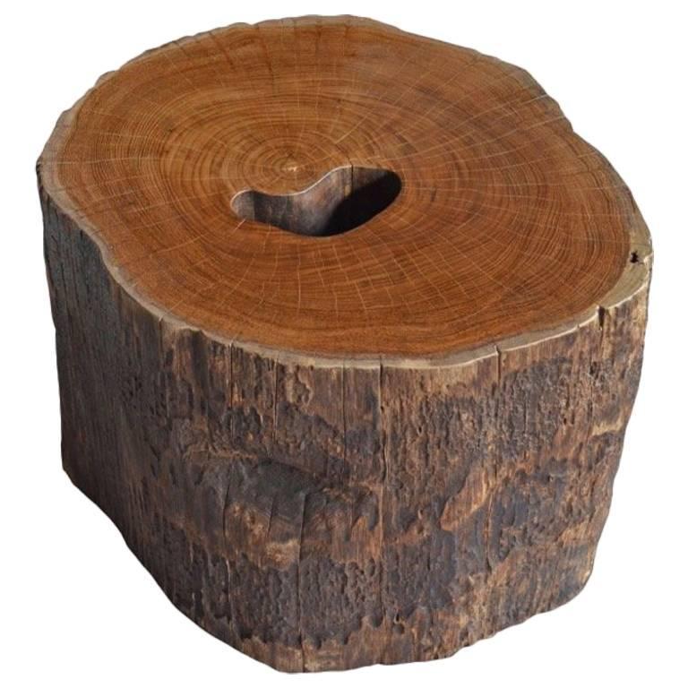 Andrianna Shamaris Teak Wood Side Table